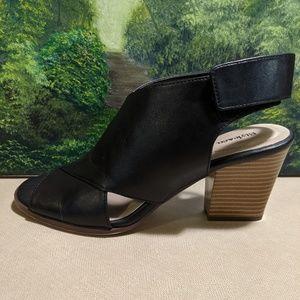 Style &Co black sandal heel shoe